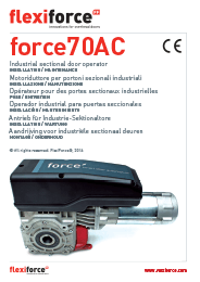 Force 70 AC industrimotor