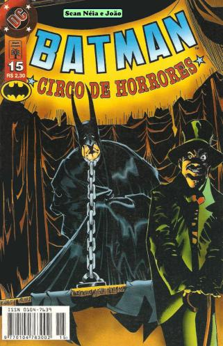 Capa de Batman 15
