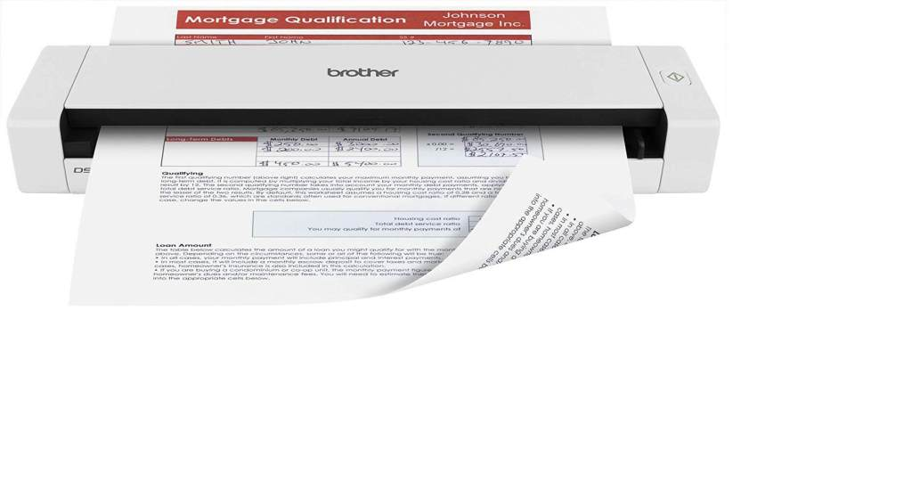 Brother Top Receipt Scanner