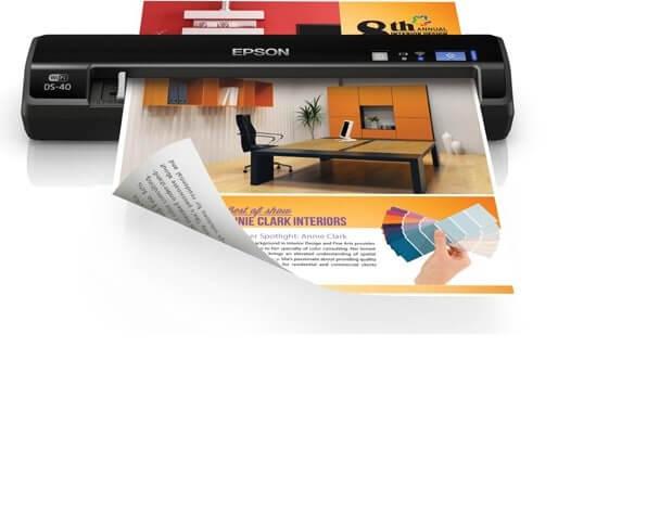 Epson WorkForce DS 40 Best Portable Document Receipt Scan Device