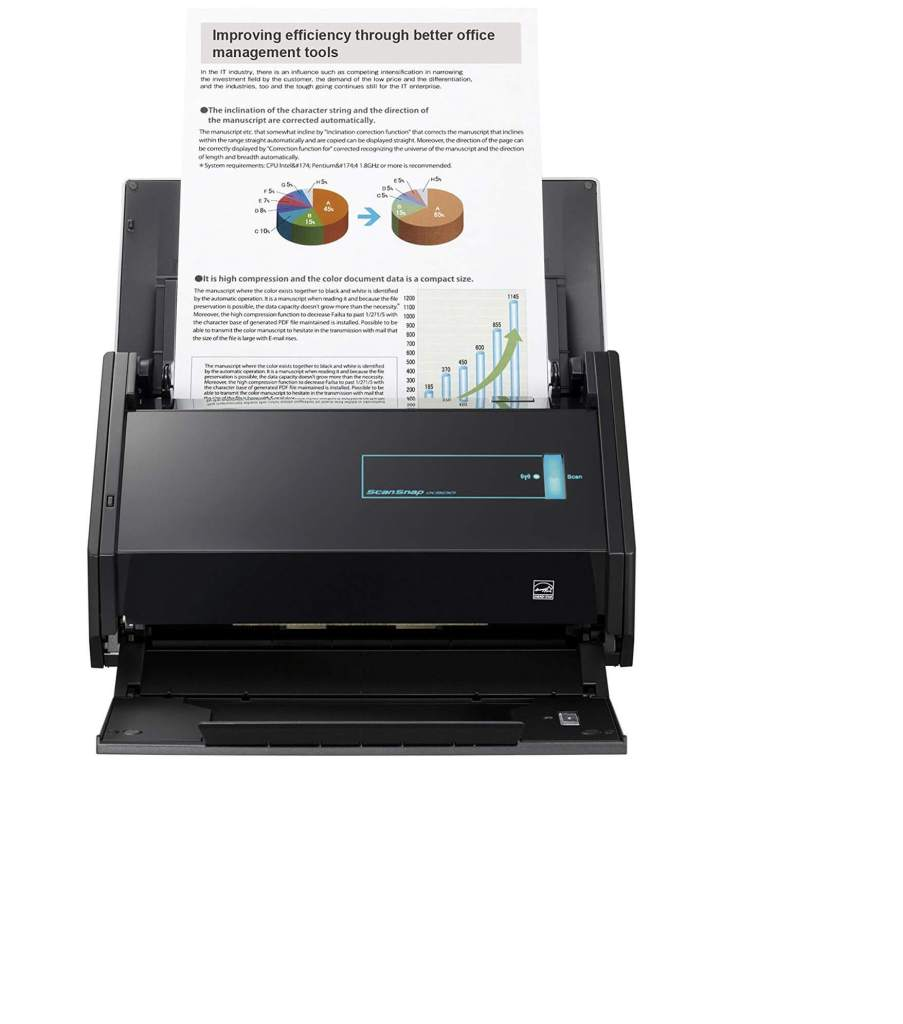 Fujitsu ScanSnap Best Receipt Scanner