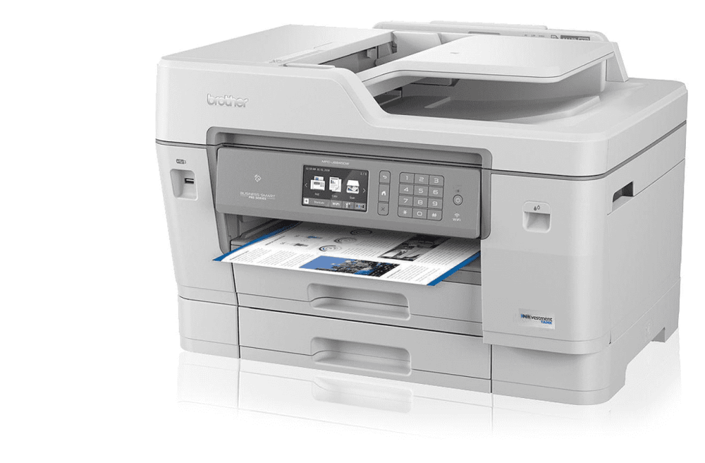Brother MFCJ6945DW INKvestment Wireless Printing Best 11X17 Printer