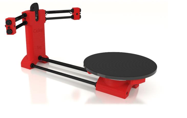 HE3D Ciclop DIY Best 3D Scanner Kit