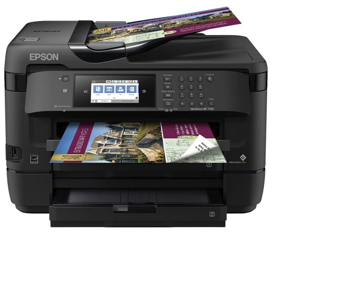 Epson WorkForce WF 7720 All In One Wide format Inkjet Printer