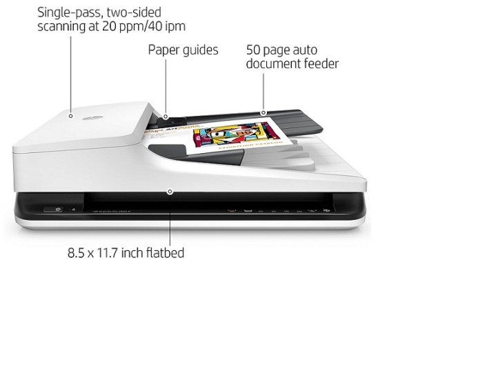 HP top Large Format Scanner Flatbed