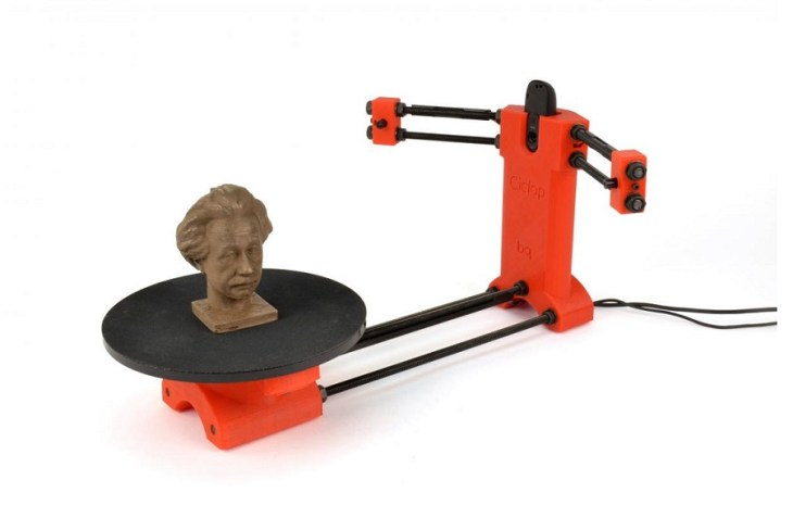 HE3D Open Source Ciclop DIY 3D Scanning Kit