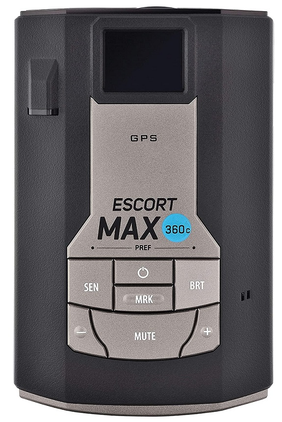 Escort MAX360C Laser Radar Detector WiFi and Bluetooth Enabled