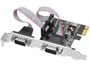 Generic 2 Port Serial (Low Profile) PCI-EXPRESS Interface Card