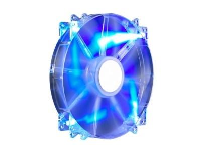 Coolermaster 20cm Megaflow Blue LED Case Fan - 3/4 Pin Connector