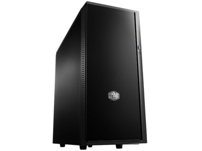 Coolermaster Silencio 452 mATX Tower Case no PSU