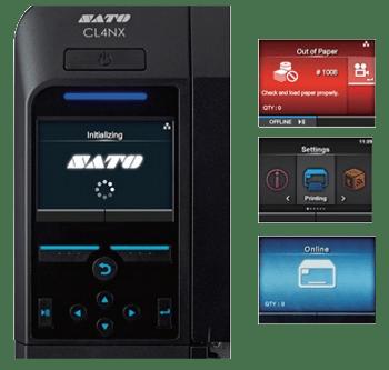 sato cl4nx operator display