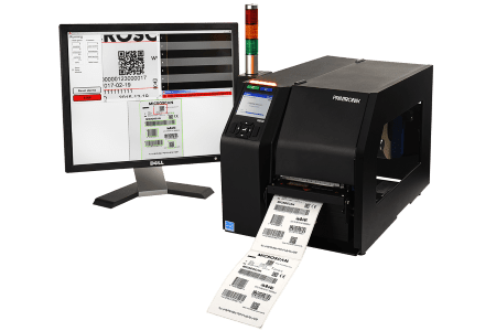LVS-7510 label inspection with Printronix T8000 printer
