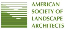 Logo of ASLA - American Society of Landscape Architects