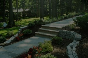 Landscaped steps by Scape-Abilities.
