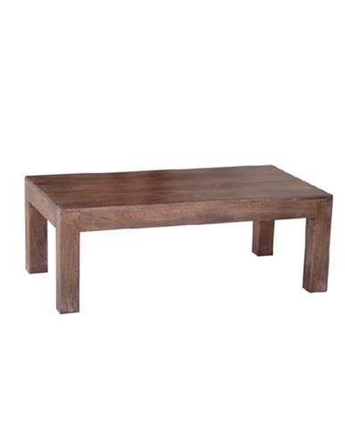 dark mango wood coffee table