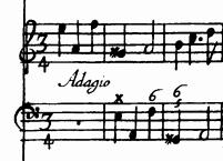Corelli, op. 5, N.3, Adagio