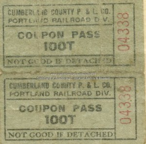Image of Trolley Ticket