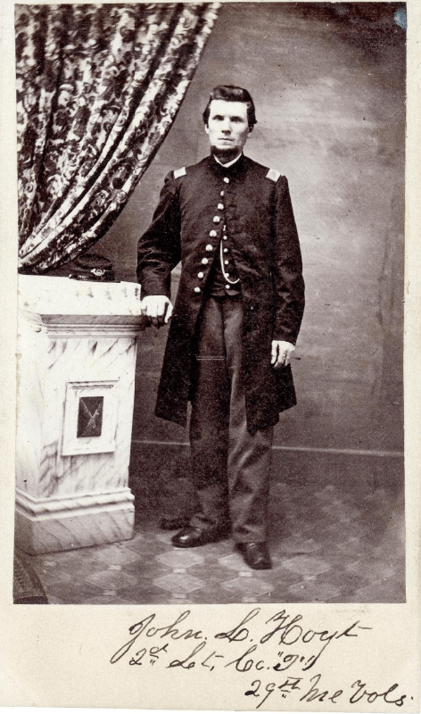 John L. Hoyt, Scarborough, ca. 1864