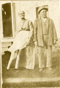 Noah and Harriet Pillsbury, Scarborough, ca. 1910