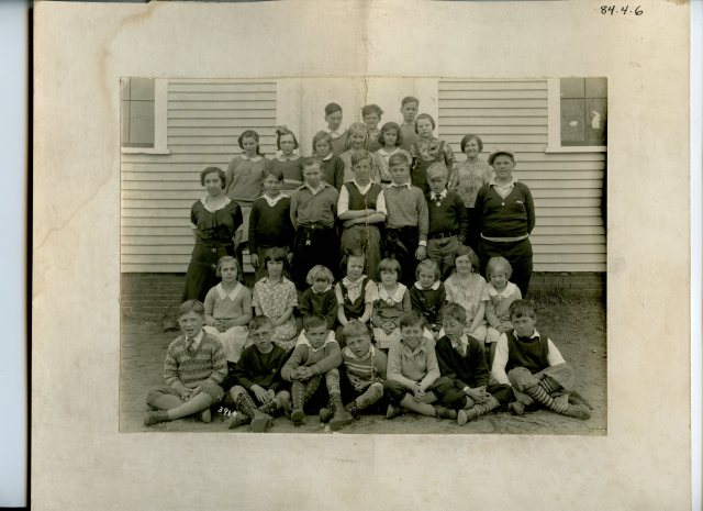 Black Point School - Class Photo c. 1934