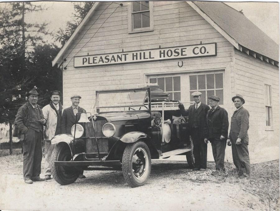Image of Pleasant Hill Hose Company, Pleasant Hill, Scarborough, Maine - Circa 1930