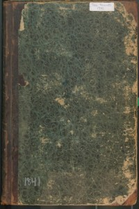 Image of the 1841 Scarborough Tax Valuation Book