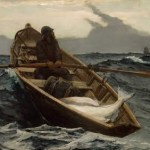 "Image of Winslow Homer's painting ""Fog Warning"""