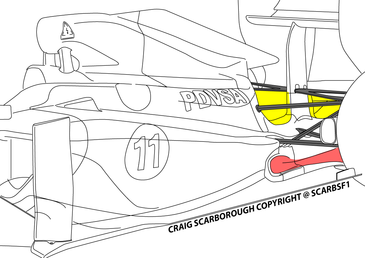 F1 Williams Fw33 Gearbox