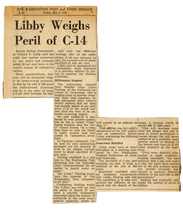 Willard libby radio carbon dating definition