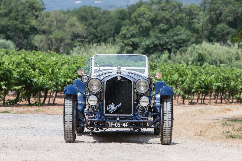 1935 Alfa Romeo 8C 2300 'Long Chassis' Tourer