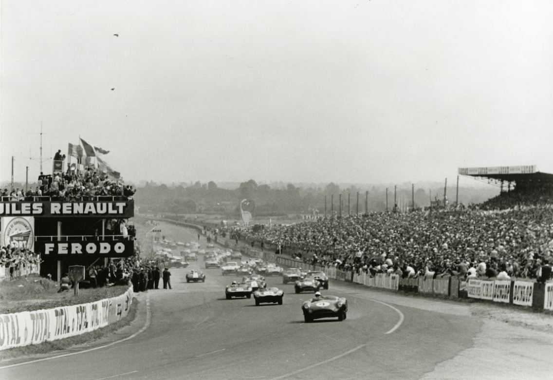 Start of the 1959 Le Mans 24 Hours