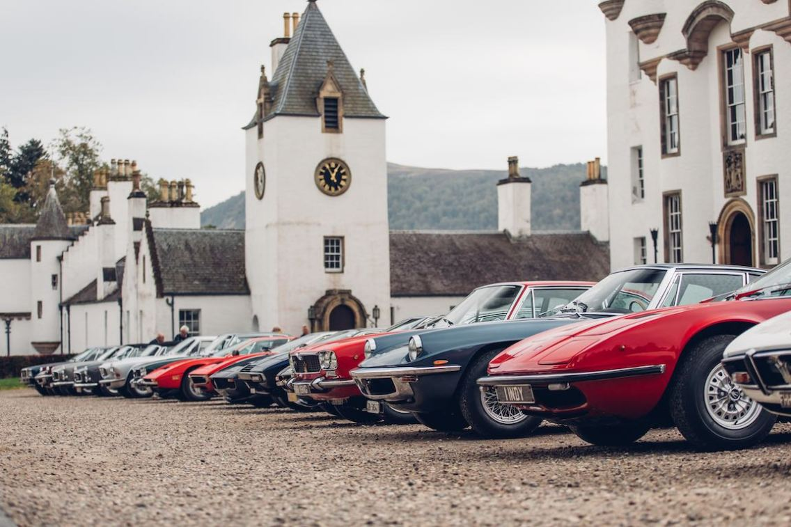 Maserati at Blair Castle