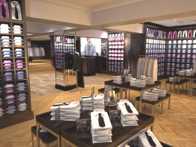 …TM Lewin – Jermyn Street, London.