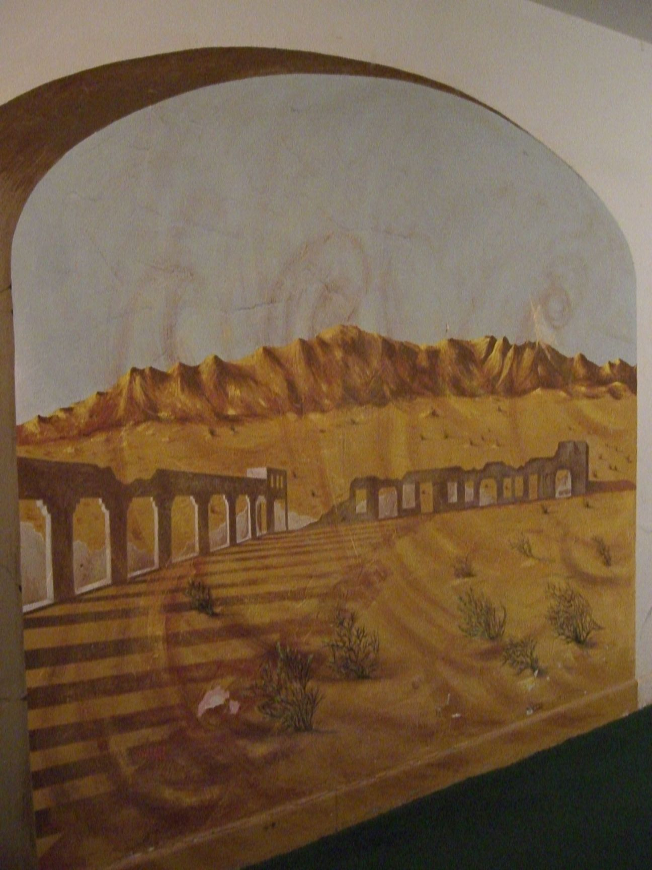 Mural - Marta's Spirit and the Amargosa