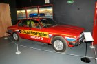 In the 1970s, Jaguar started its proud tradition of providing wheels for Silverstone Syd - the circuit's chief fire marshal