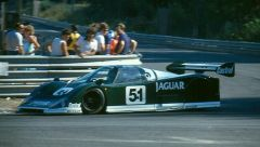 The 1985 debut of Tony Southgate's Jaguar XJR-6 from which Le Mans and World Championship sports car success would soon be forthcoming