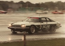 TWR XJ-S in the crazy, waterlogged 1985 Tourist Trophy