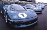 The old Le Mans cars were turned into barely road legal XJR15s for the Intercontinental Cup of 1991