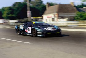 The XJ220 made rather a cumbersome racer, but David Coulthard shone in 1993 Le Mans class win