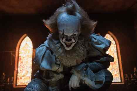 Pennywise the Clown in It (2018)
