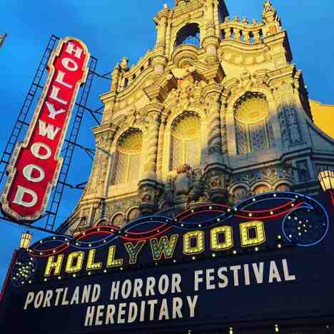 Portland Horror Film at the Hollywood