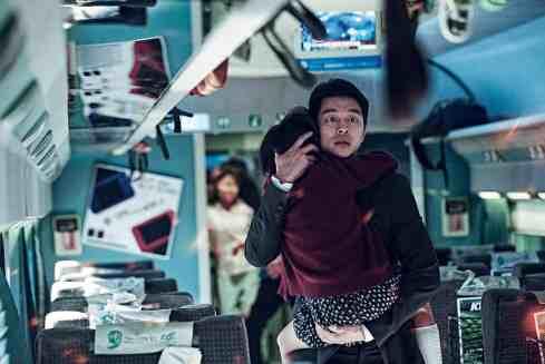 Yoo Gong as Good Dad Seok-Woo in Train to Busan.