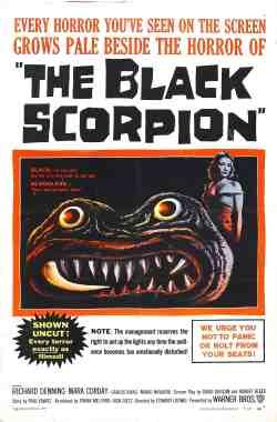 Black Scorpion Poster
