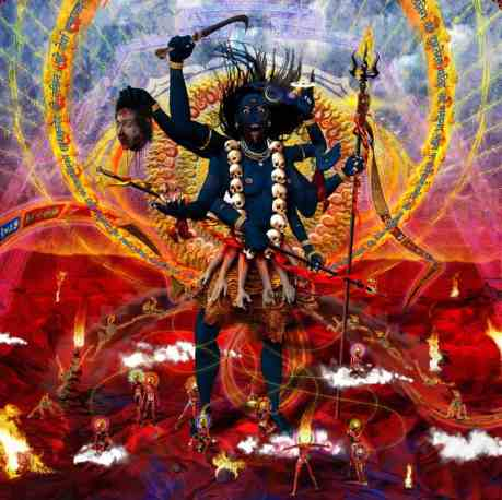 C'mon, is there anything scarier in religion than Kali?