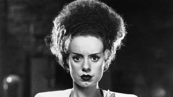 The Bride of Frankensteain Elsa Lanchester