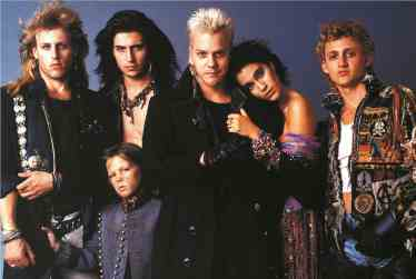 Vampires, MTV style in The Lost Boys (1987)