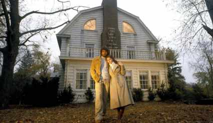 James Brolin and Margot Kidder in The Amityville Horror (1979)