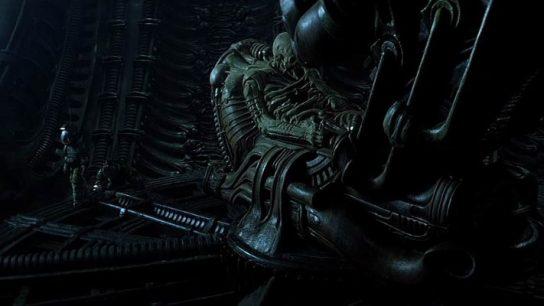 The Space Jockey in Alien (1979)