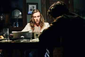 Toni Collette and Alex Wolff in Hereditary (2018)