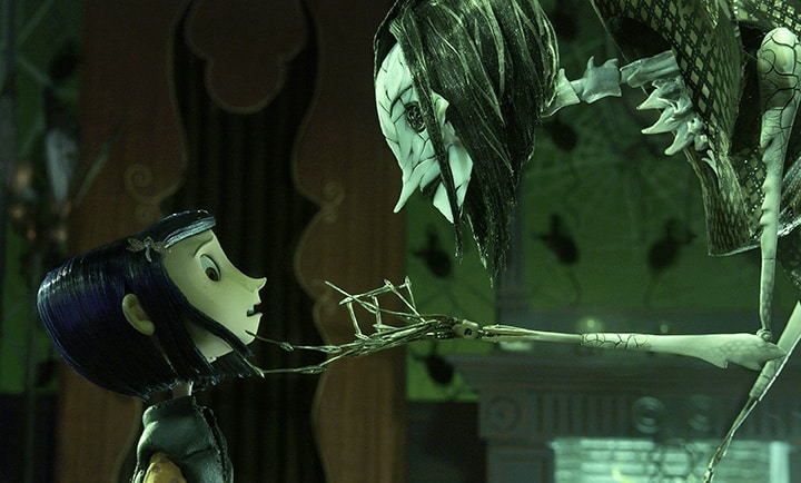 The Other Mother and Coraline (2009)
